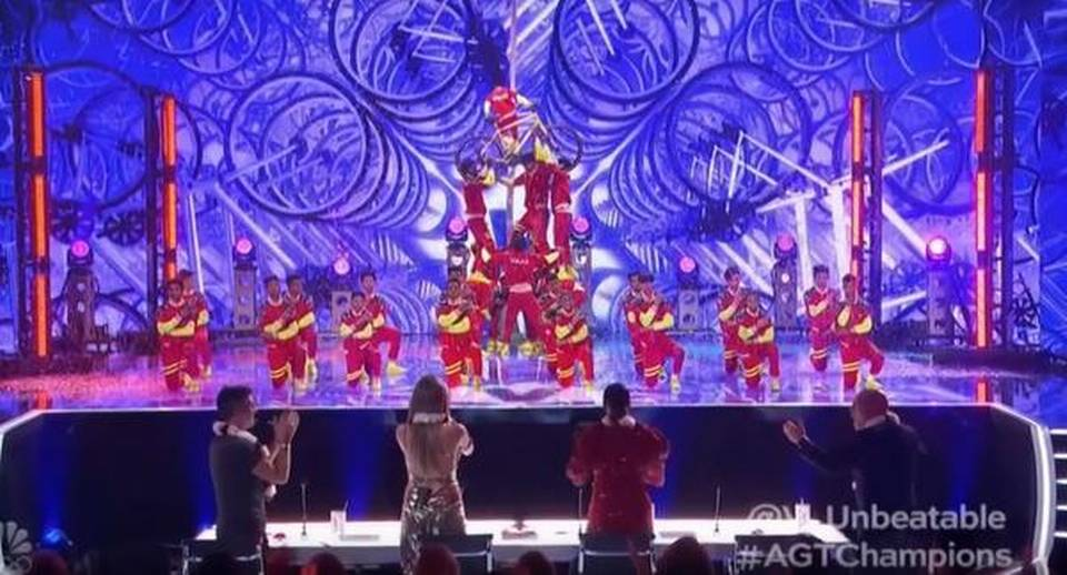 Dance crew V Unbeatable perform Rajinikanth's 'Marana Mass' from 'Petta' at finale of 'America's Got Talent: The Champions'
