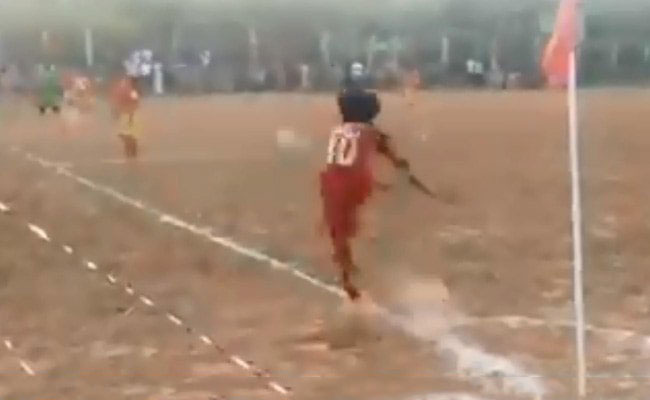 "Bend It Like... This Kerala 10-Year-Old. Watch His ""Near Impossible"" Goal"