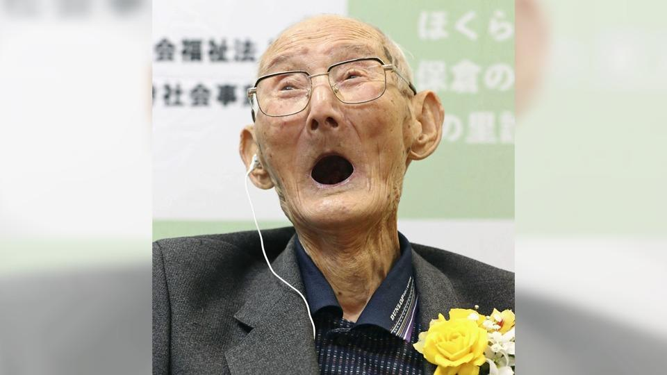 112-year-old crowned as world's oldest man, shares secret to long life. Can you guess what?