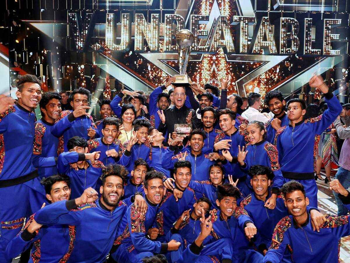 Mumbai dance group V Unbeatable wins America