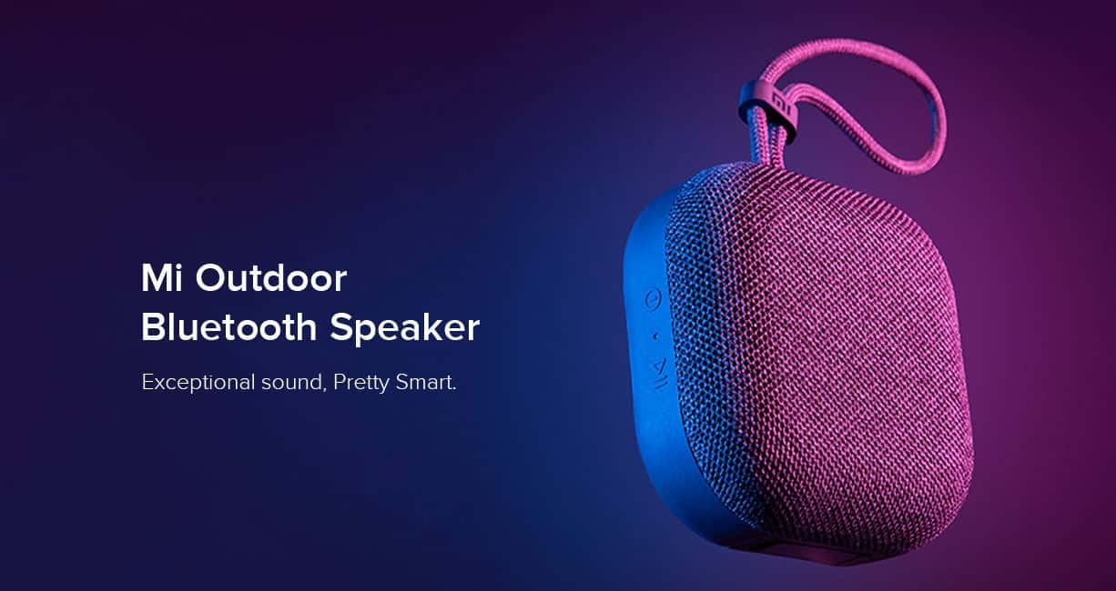 XIAOMI MI OUTDOOR BLUETOOTH SPEAKER LAUNCHED IN INDIA FOR A PRICE TAG OF $20