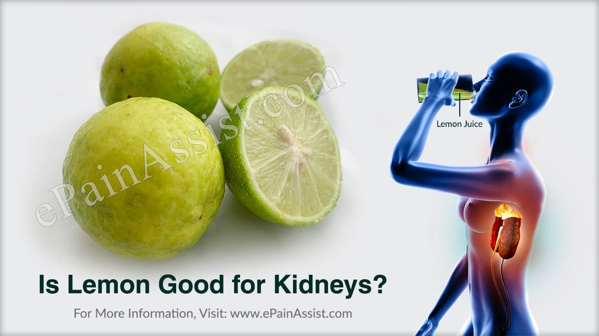 Is Lemon Good for Kidneys?