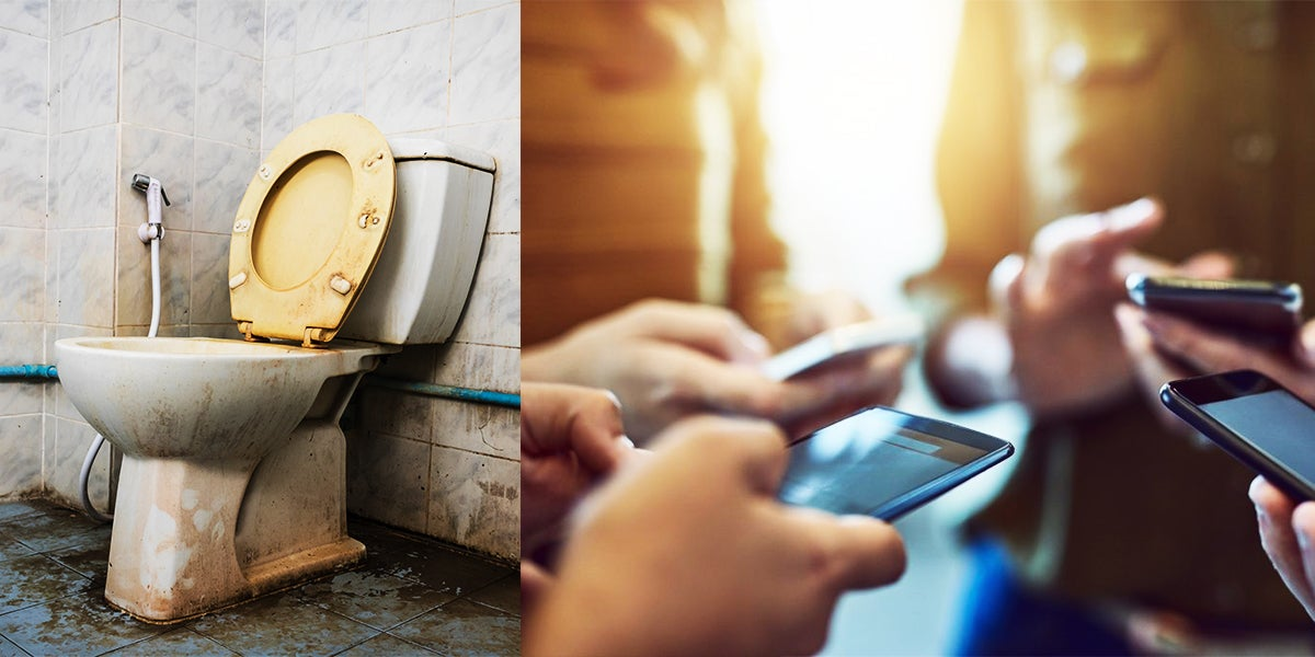 Study Suggest Your Phone Could Be 10x Dirtier Than A Toilet Seat