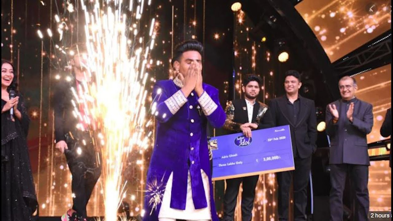 Indian Idol 11 winner is Sunny Hindustani from Bathinda