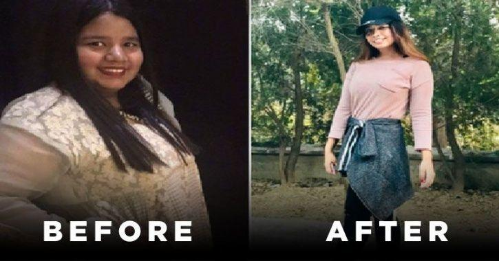 This Woman Lost A Whopping 42 Kilos In 6 Months, Even After Including Ice-Cream, Pani Puri And Chinese Food In Her Diet!