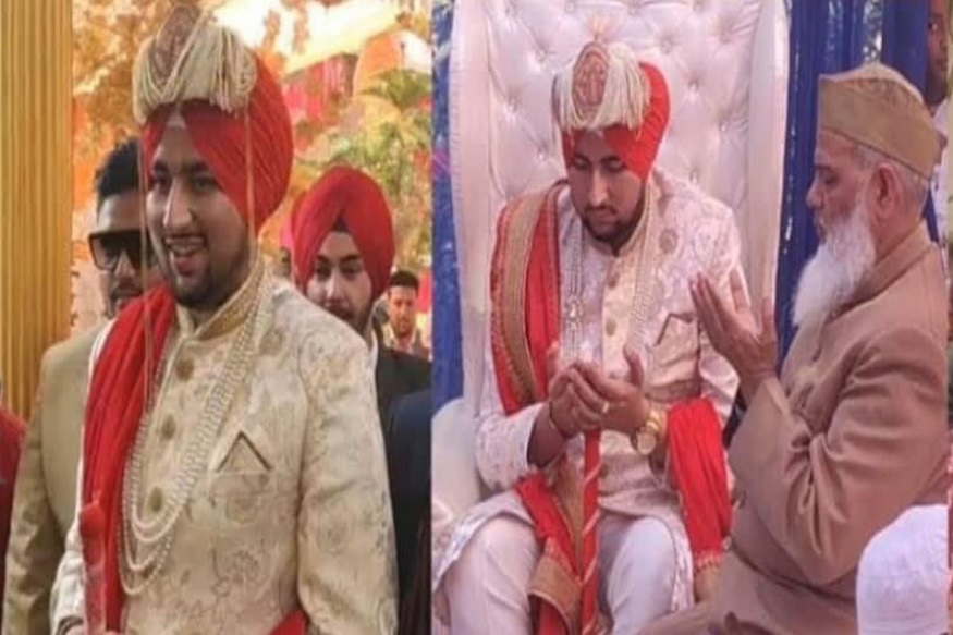 Muslim Groom Sports Turban to Honour Sikhs for Their Help in Delhi Riots