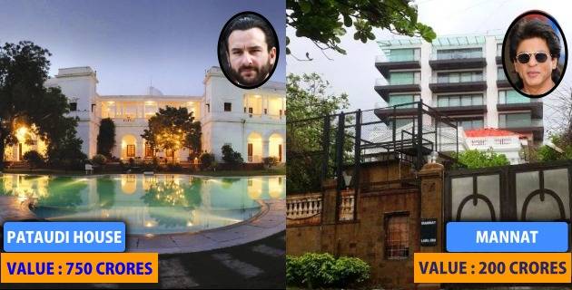 8 Super Costly Houses Owned by Bollywood Stars will Raise Your Eyebrows