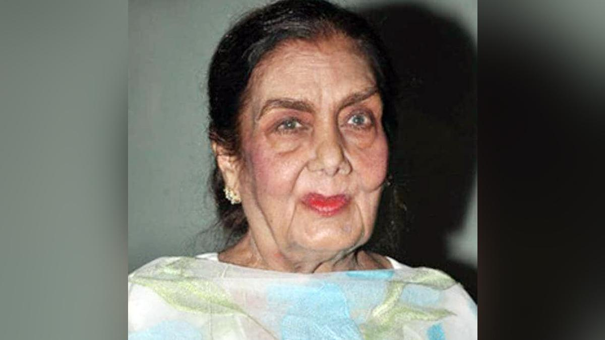 Veteran actress Nimmi dies at 88 in Mumbai