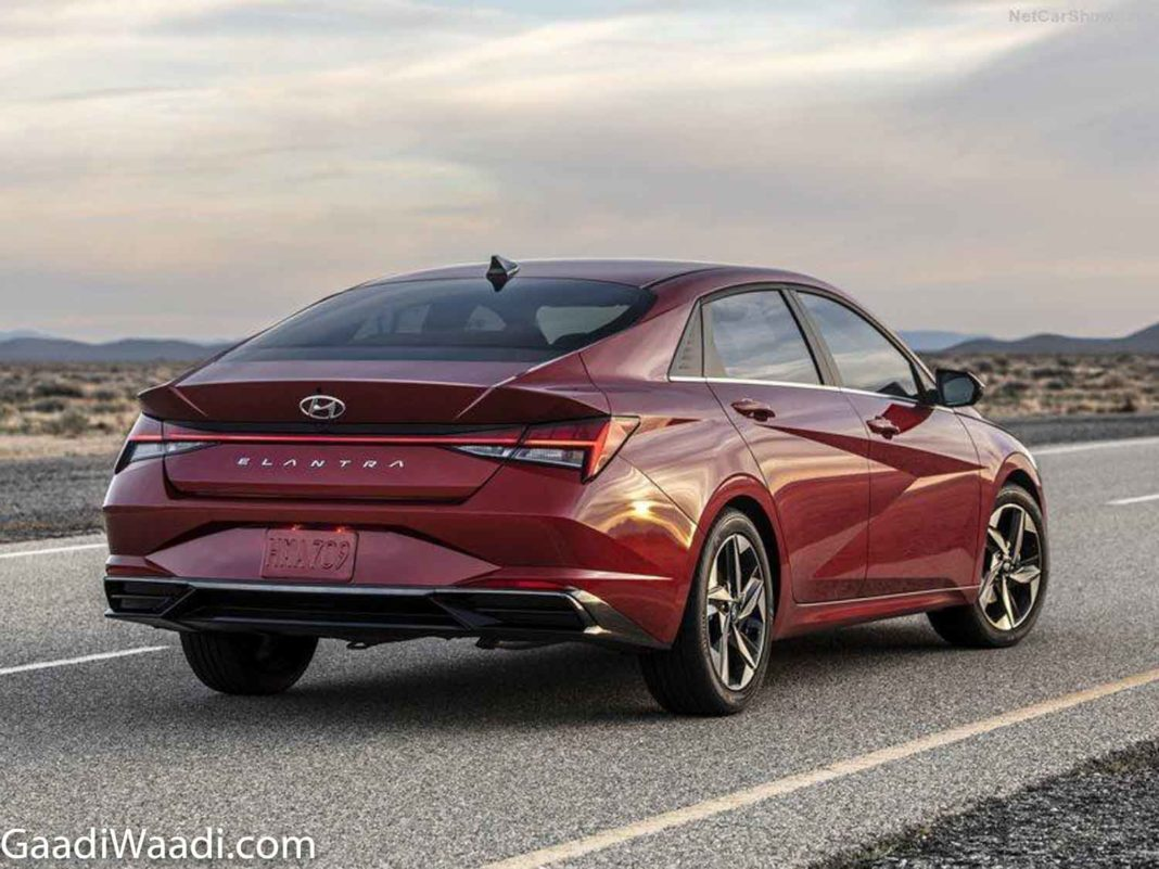 India-Bound New-Gen Hyundai Elantra Unveiled With Hybrid Powertrain