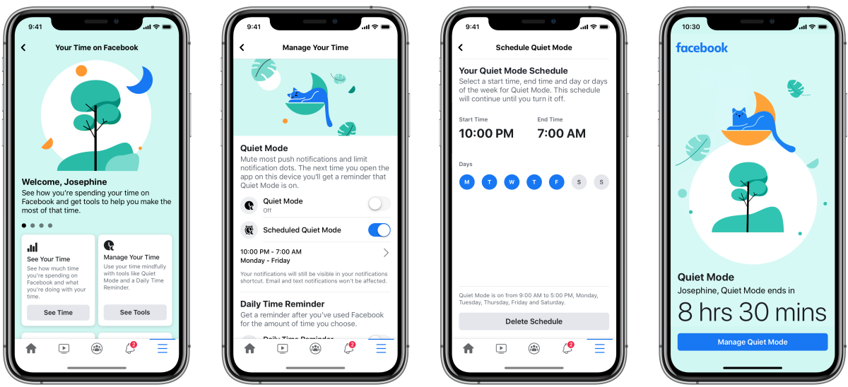 Facebook Wants You to Spend Less Time on Facebook And is Adding a New Quiet Mode