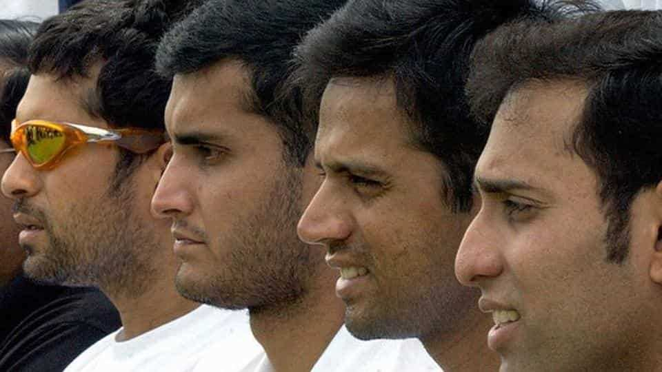'Great time of life': Sourav Ganguly on 'iconic quartet' photograph
