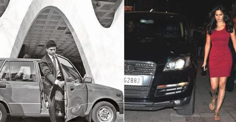 Famous Indians & their first cars: Sachin Tendulkar's Maruti 800 to Katrina Kaif's Audi Q7
