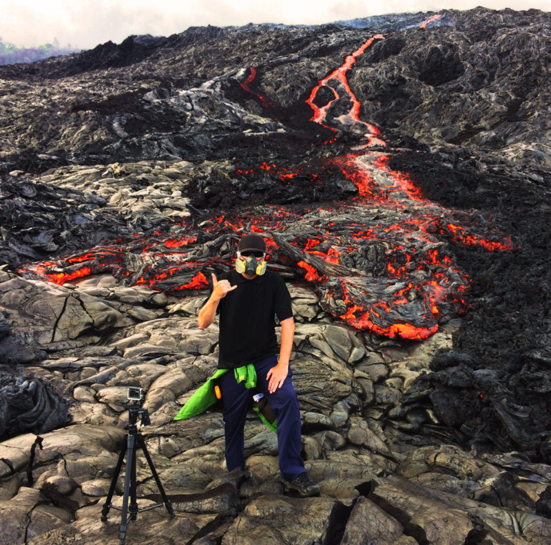 This GoPro Camera Got Swallowed By Lava, Survived and Recorded Everything