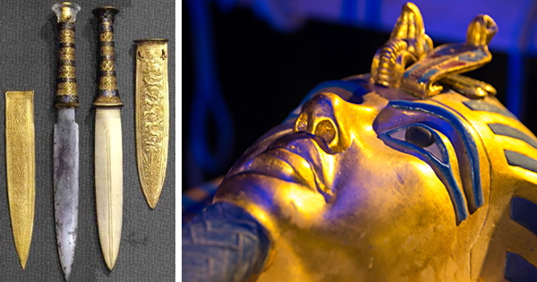 King Tutankhamun's dagger is made of a metal from another world Original