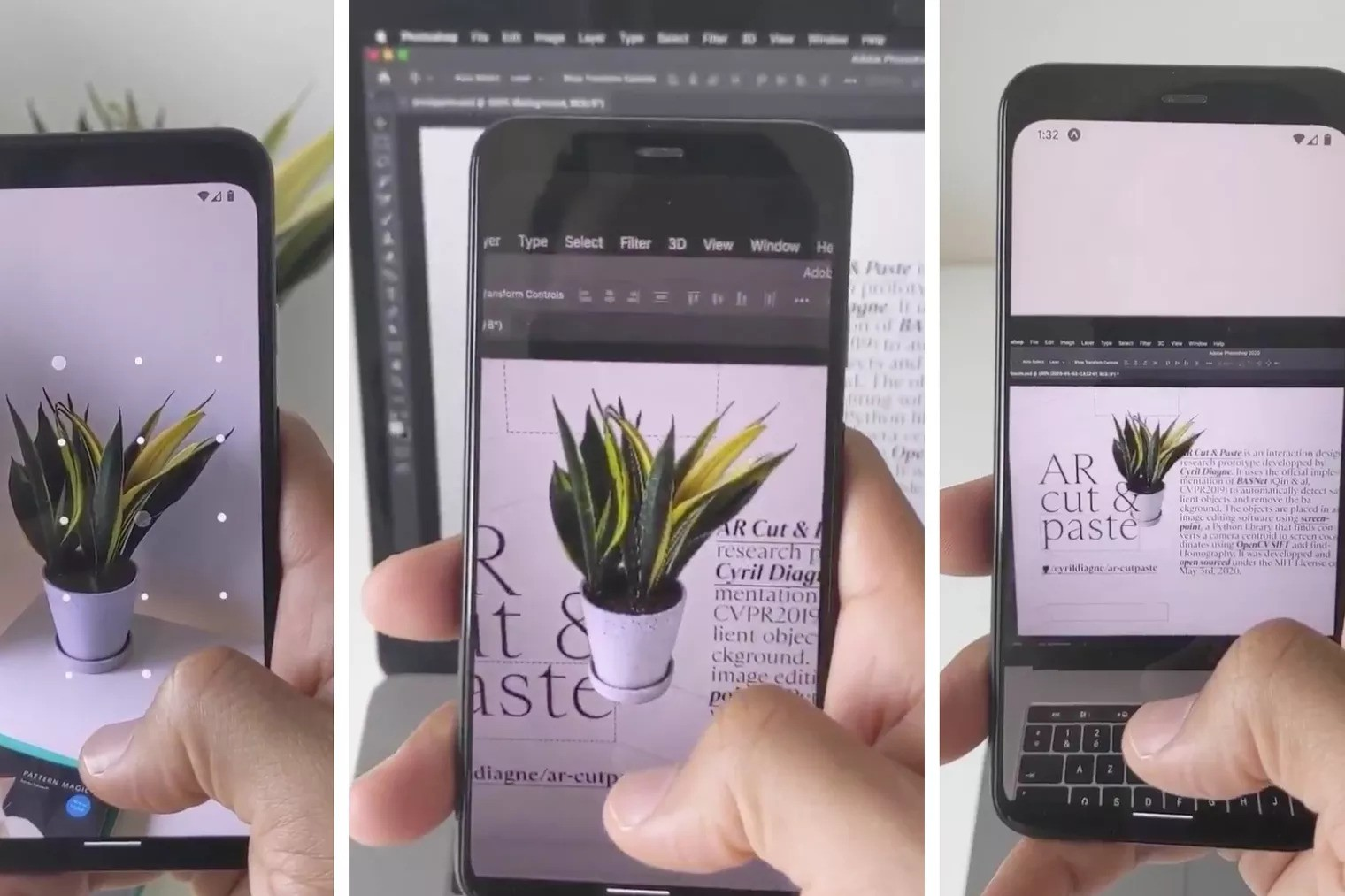 Copy and paste the real world with your phone using augmented reality
