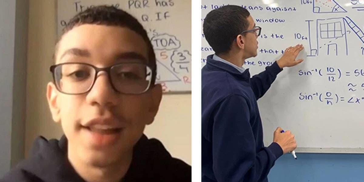 This Bronx Teen Teaches Math To Out-Of-School Students On Tik Tok