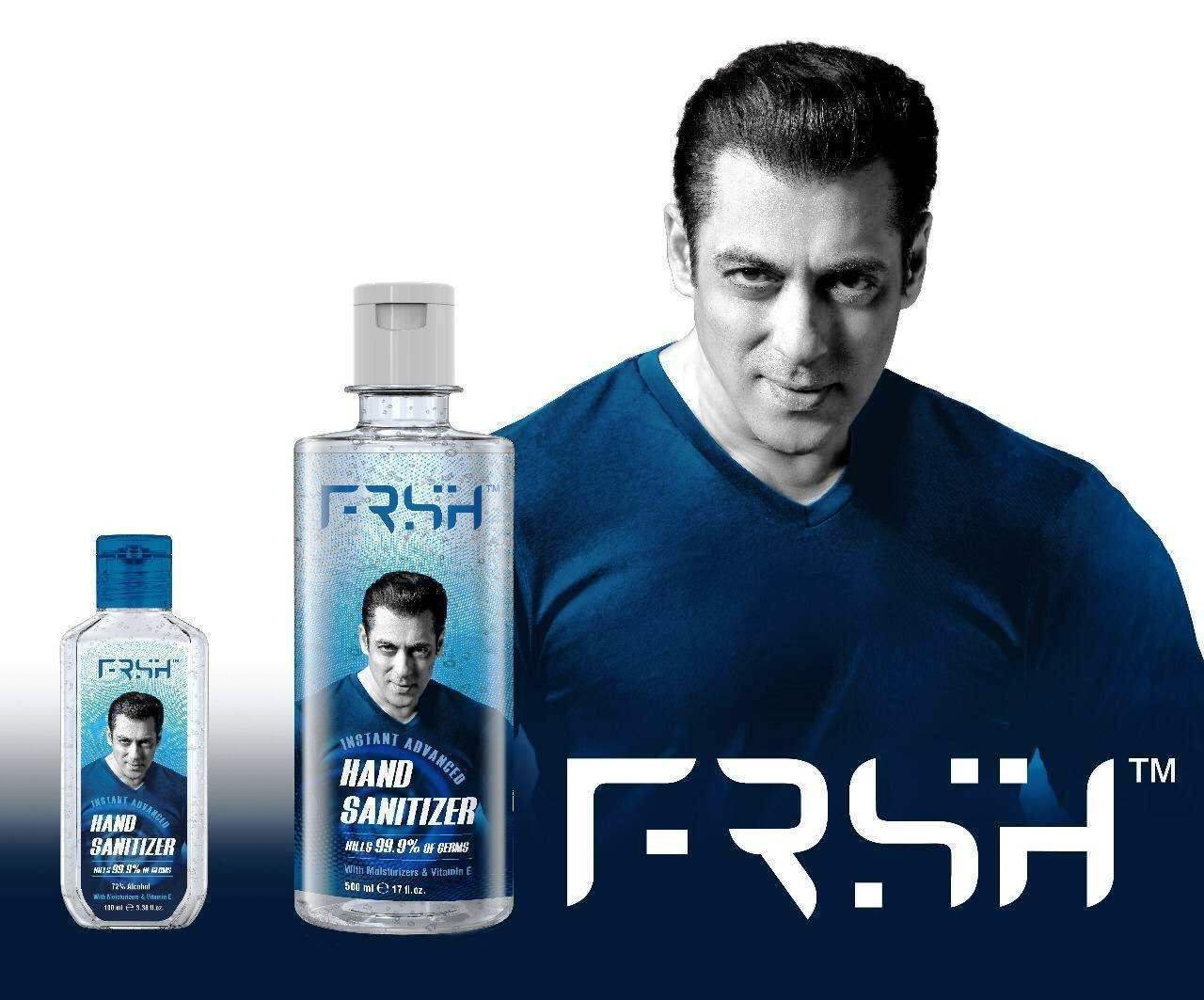 Salman Khan launches personal care brand FRSH, starts with sanitisers