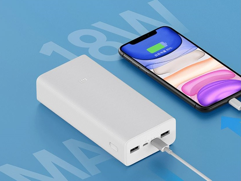 Xiaomi launches the 30,000 mAh Mi Power Bank 3 for under US$25