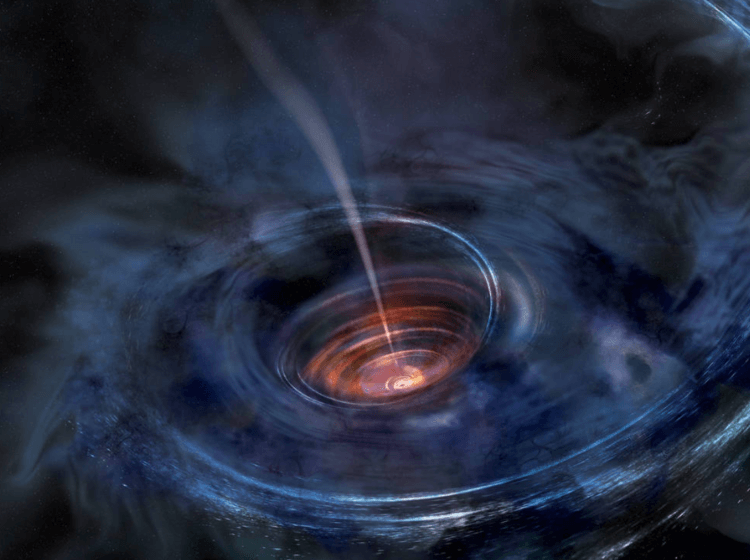The fastest-growing black hole in the universe eats one sun a day — doubling its diet from just a month ago