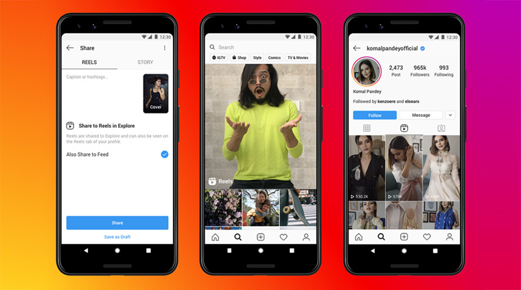 Instagram Reels rolling out in India; here's all about Facebook's Tiktok rival