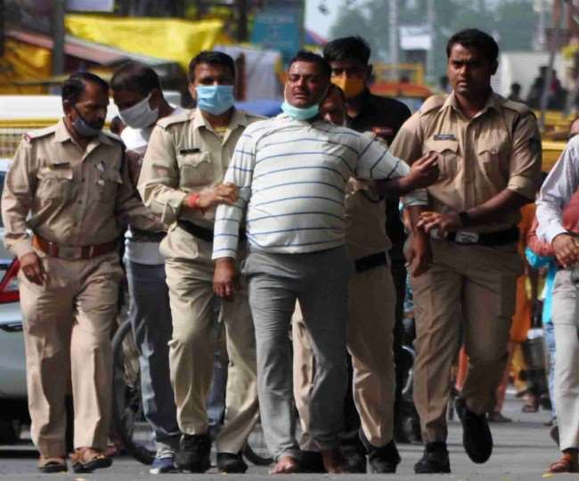 Kanpur gangster Vikas Dubey arrested for killing 8 cops shot dead in encounter