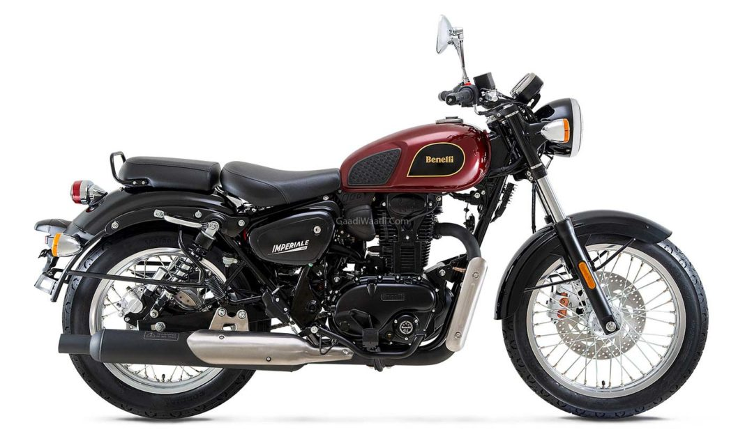 BS6 Benelli Imperiale 400 Launched, Priced From Rs 1.99 Lakh