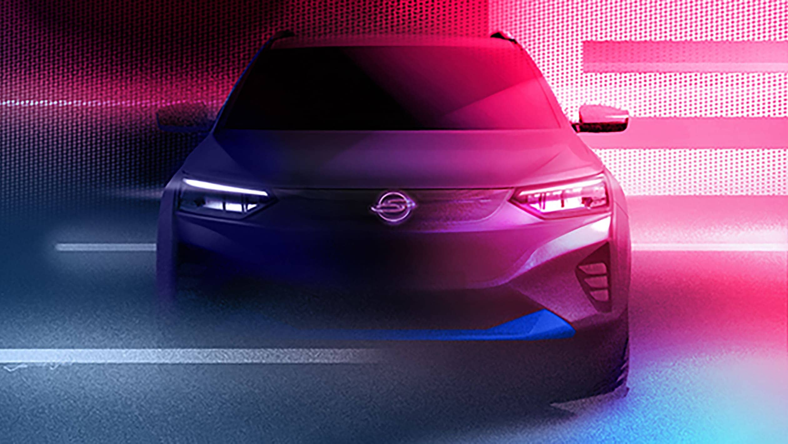 SsangYong E100 electric SUV, foil for Mahindra eXUV300, teased