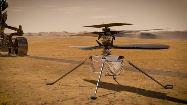 "NASA will soon try to fly a helicopter over Mars: ""It really is like the Wright brothers"