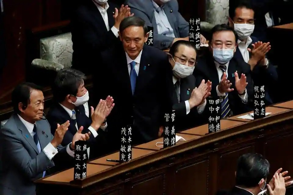 Yoshihide Suga elected as Japan's new prime minister, will succeed Shinzo Abe