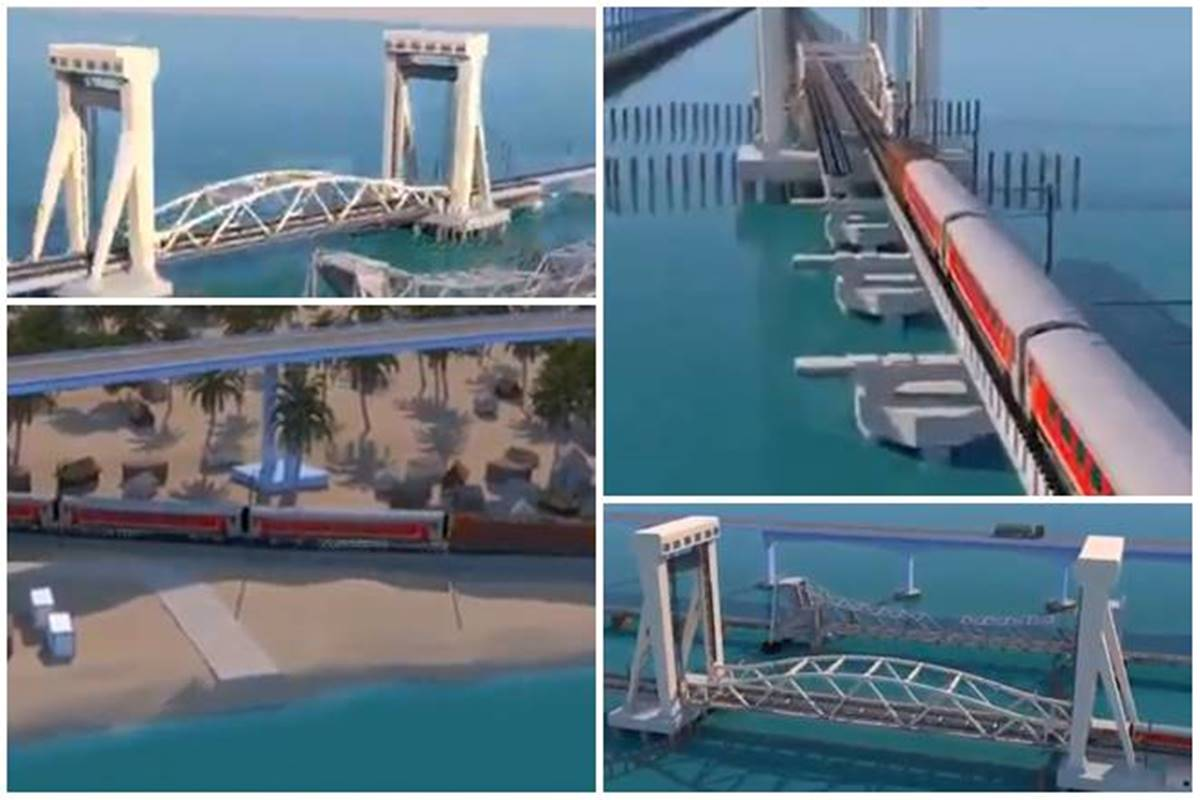 Watch video: How the new Pamban Bridge will be Indian Railways' first vertical lift sea bridge; details