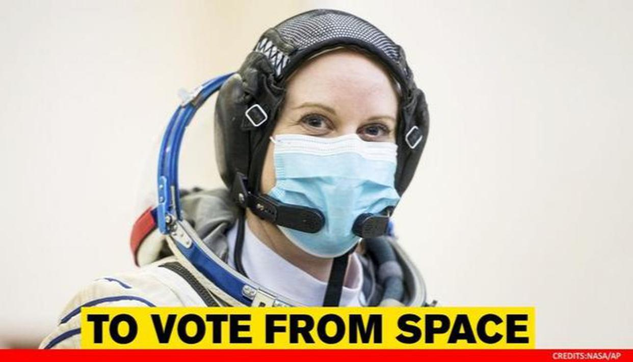 US elections 2020: How astronauts cast their votes from space