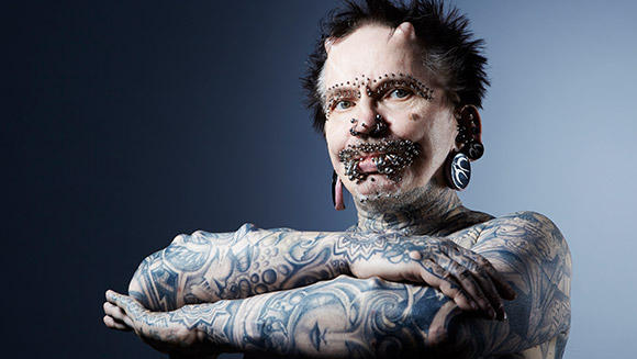 Meet The Man With A World Record For Most Body Modifications