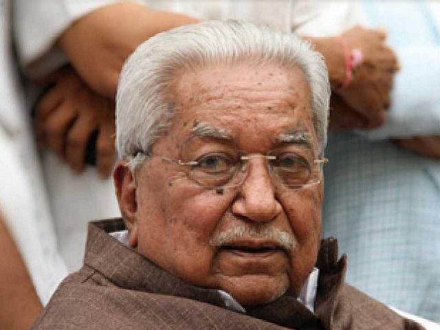 Keshubhai Patel, Former Gujarat Chief Minister, Dies at 92
