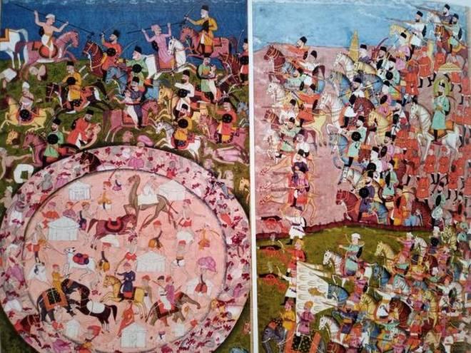 Understanding Panipat 1761 through rare paintings