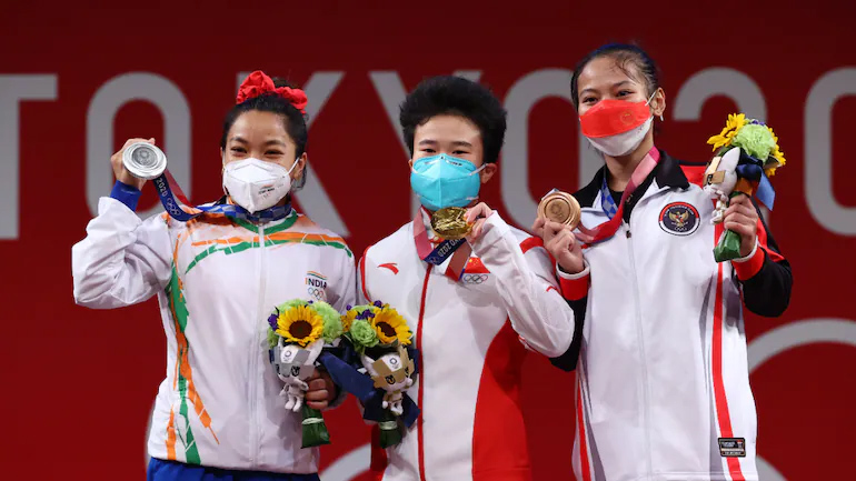Tokyo 2020: Mirabai Chanu becomes 1st Indian weightlifter to win silver in Olympics