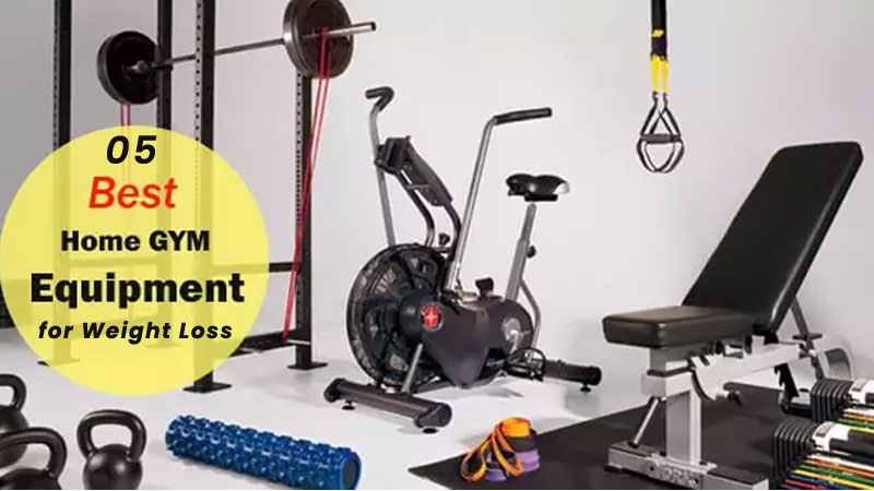 The 5 Best Home Gym Equipments for Weight Loss