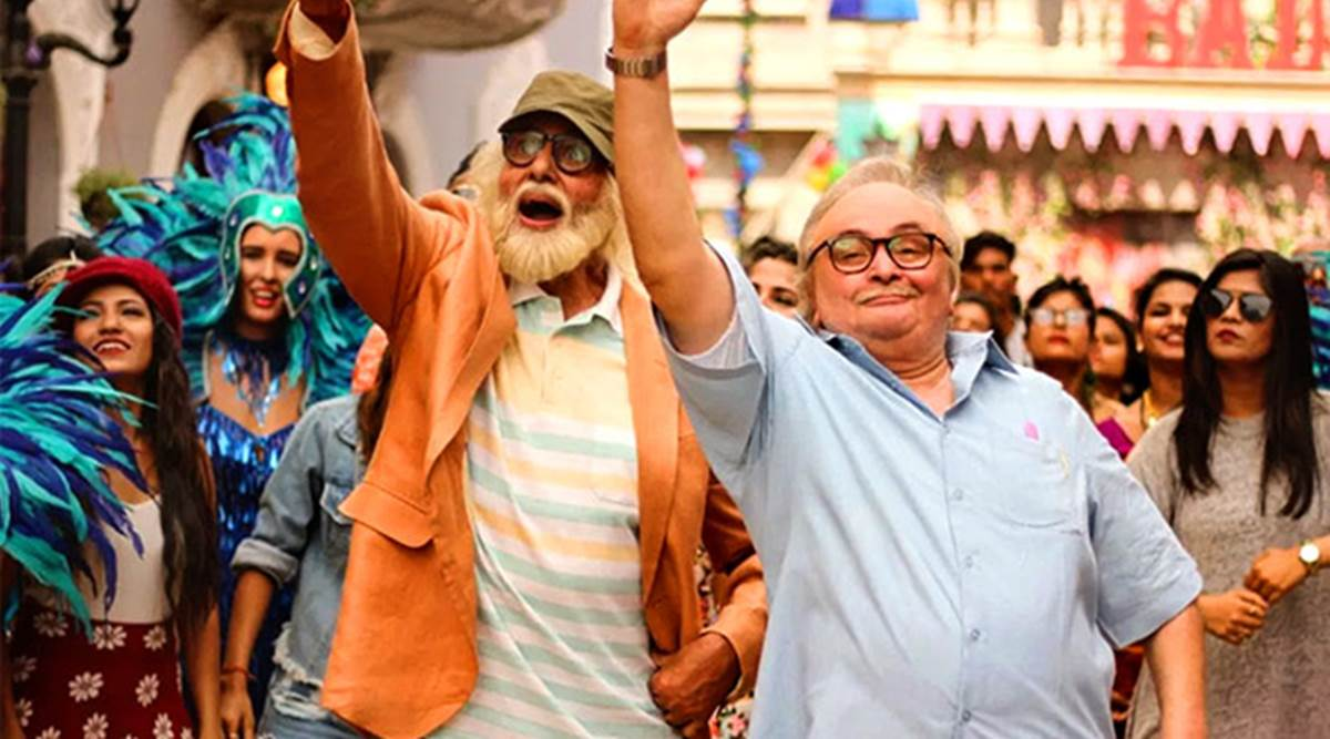 102 Not Out movie review: The Amitabh Bachchan starrer is happy making old age seem all sunshine