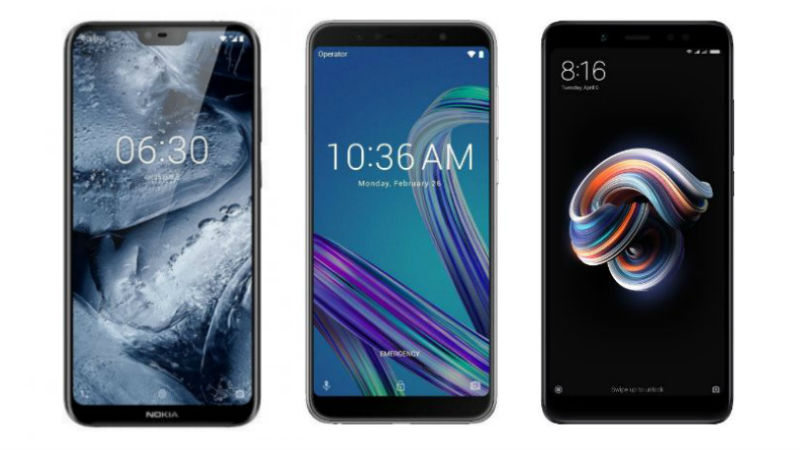 Nokia X6 vs Redmi Note 5 Pro vs ZenFone Max Pro M1: Price, Specifications, Features Compared