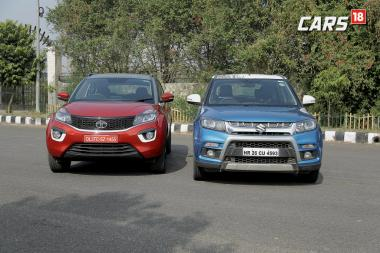 Maruti Suzuki Vitara Brezza Vs Tata Nexon Comparison - Price, Mileage and More - Watch Video