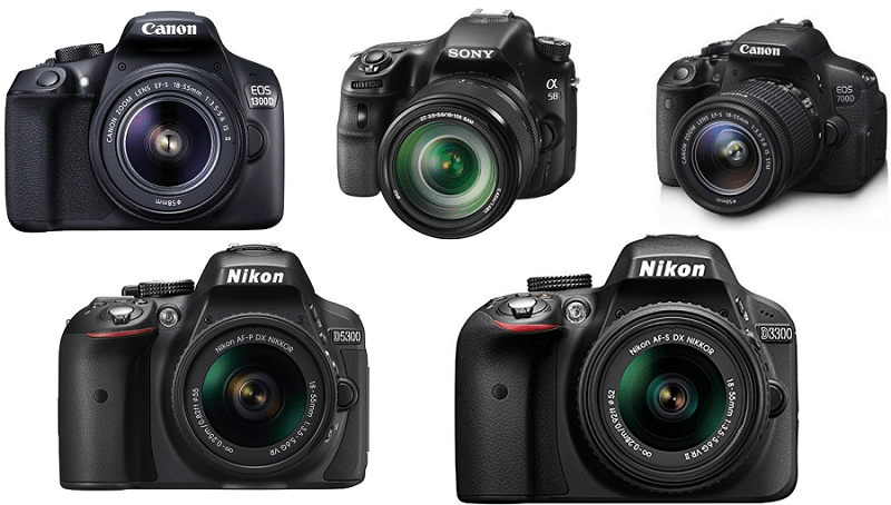 The 5 Best DSLR Cameras under 50000 in India – Reviews & Buyer's Guide