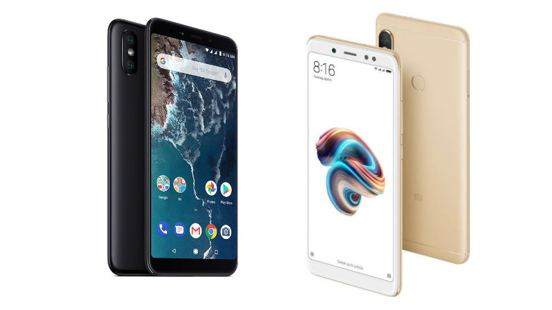 Mi A2 vs Xiaomi Redmi Note 5 Pro: Price in India, Specifications Compared