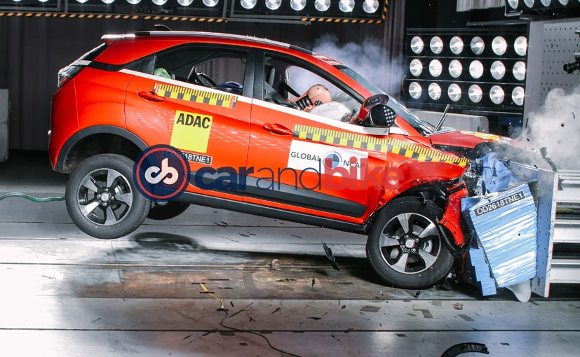 Tata Nexon Has Been Awarded 4-Star Rating In Global NCAP Crash Test