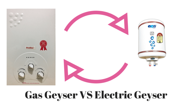 Gas Geyser vs. Electric Geyser – Which One Should You Go For?