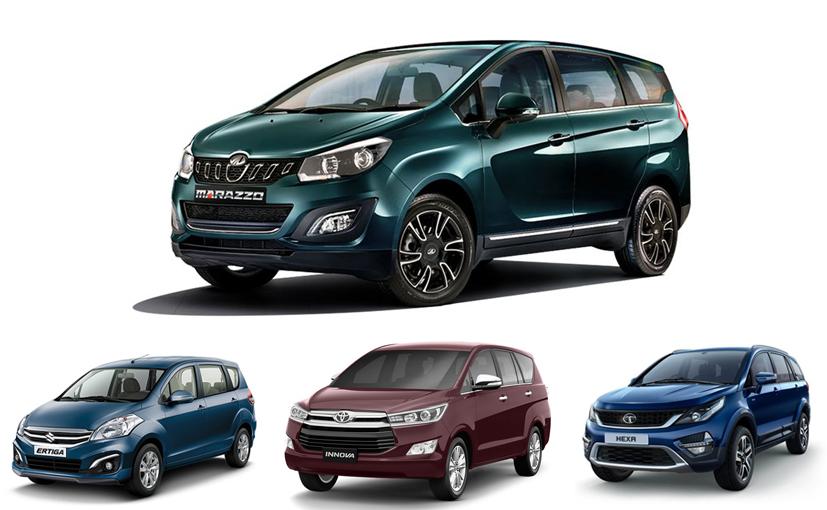 Mahindra Marazzo VS Maruti Suzuki Ertiga VS Toyota Innova VS Tata Hexa: Price Comparison