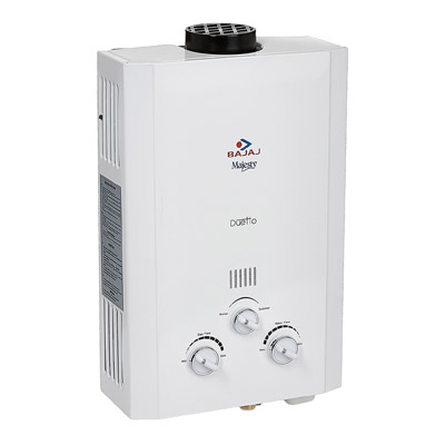 Bajaj Majesty Duetto LPG 6-Litre Water Heater Review & Price