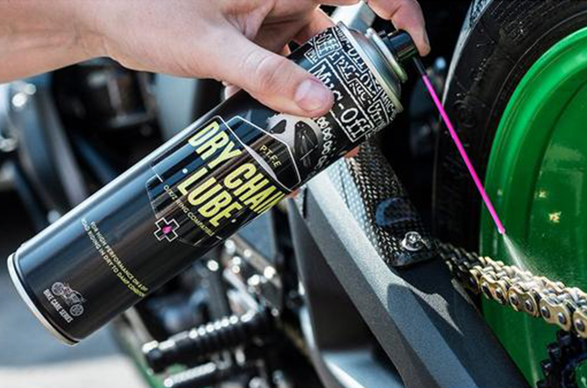Best Bike Chain Lubricants in India 2018