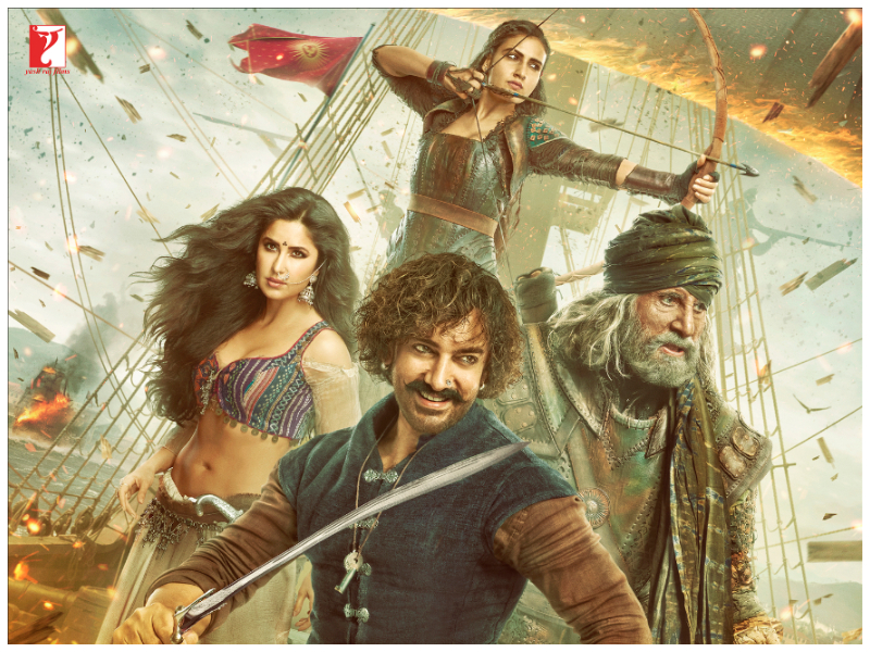Thugs Of Hindostan Movie Review: Bloated And Tacky Despite Amitabh Bachchan Plus Aamir Khan