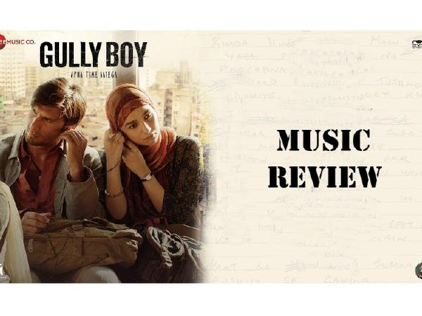 Gully Boy Music Review: A one of its kind blend of melodious songs and powerful raps