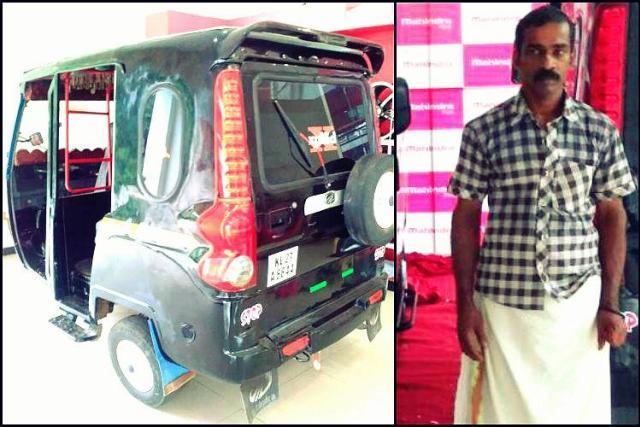 Scorpio Auto Rickshaw