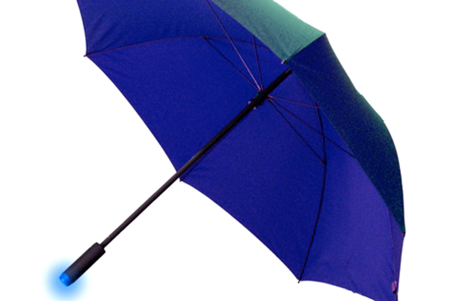 The umbrella that forecasts the weather